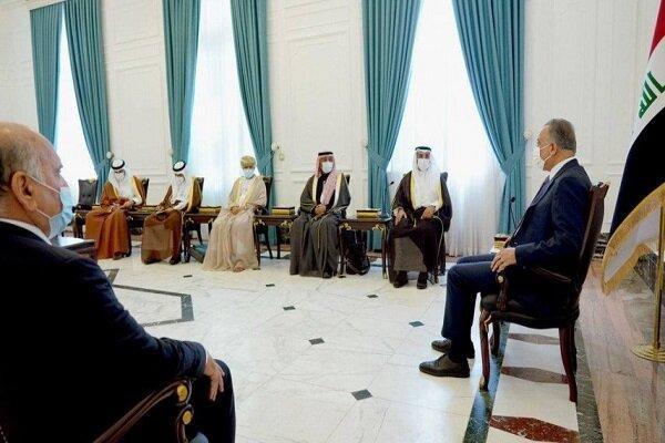 تاکید الکاظمی بر تقویت روابط عراق با شورای همکاری خلیج فارس