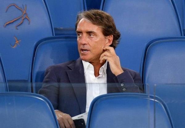 مانچینی زمان کناره گیری از سرمربیگری تیم ملی ایتالیا را گفت