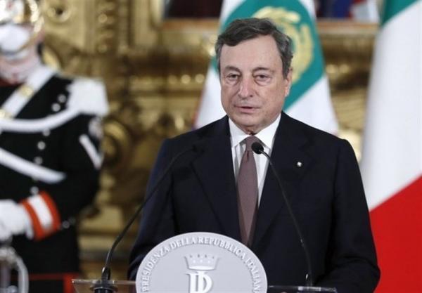 ادای سوگند دراگی به عنوان نخست وزیر جدید ایتالیا، چالش هایی سخت در پیش روی دولت جدید