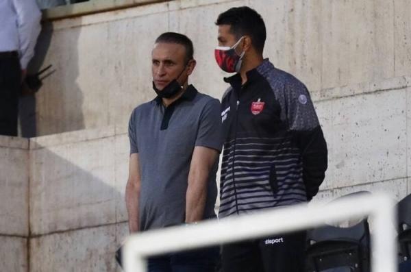 گل محمدی مشکل گلزنی پرسپولیس را گردن گرفت