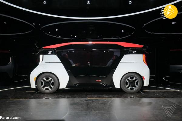 (تصاویر) ربات های تاکسی خودروسازی کروز، به دبی می فرایند