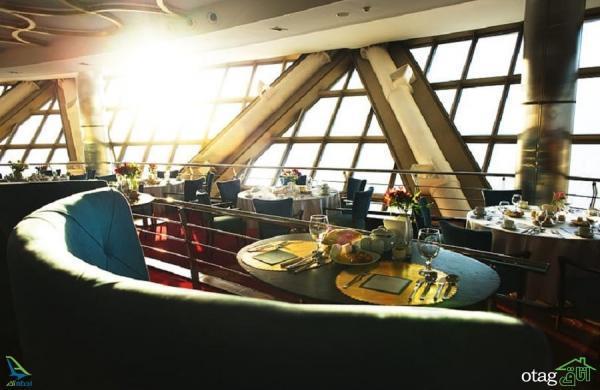 دکوراسیون رستوران برج میلاد