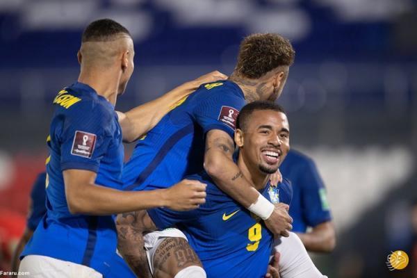 (ویدیو) خلاصه بازی پاراگوئه 0 - 2 برزیل