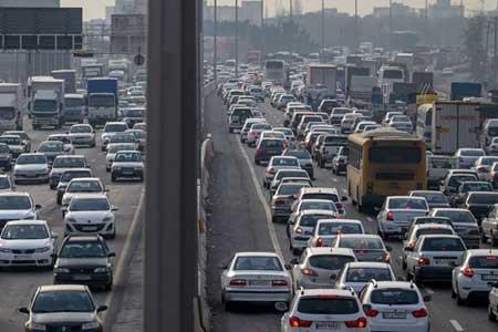 ثبت 240 هزار تردد بین تهران و کرج در یک شبانه روز