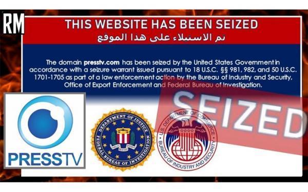چرا آمریکا دامنه دات کام سایت پرس تی وی را مسدود کرد؟
