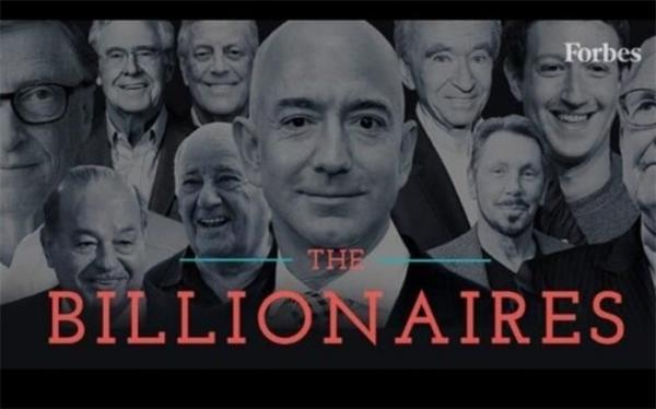 10 ثروتمند اول جهان تعیین شدند
