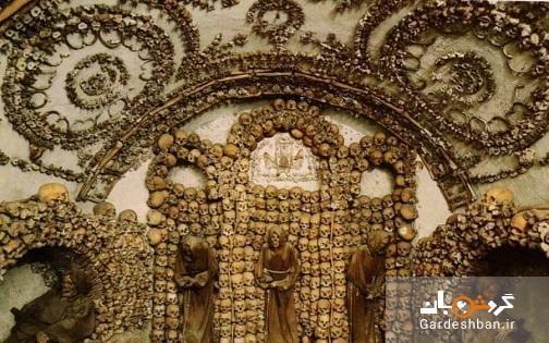 کلیسای کاپوچین دخمه ای مملو از اسکلت راهبان!، تصاویر