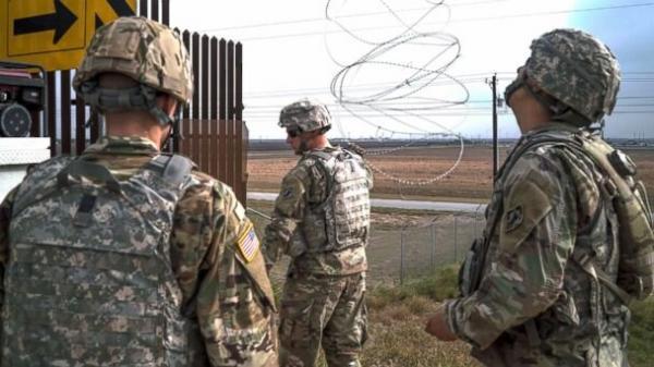 3600 نیروی آمریکایی در مرز مکزیک می مانند