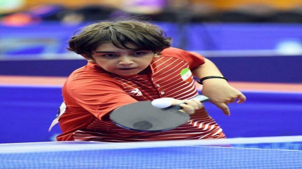 صعود جوان البرزی به رده هفتم تنیس روی میز جهانی