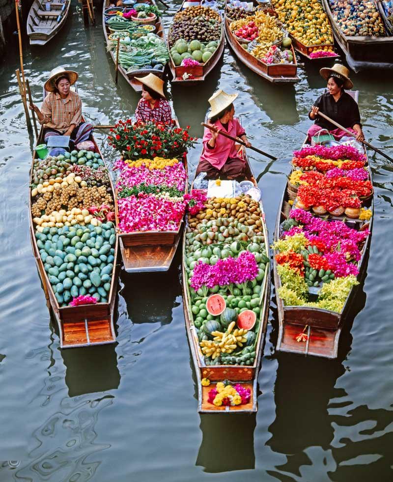 سیاحت در میان جاذبه های بانکوک