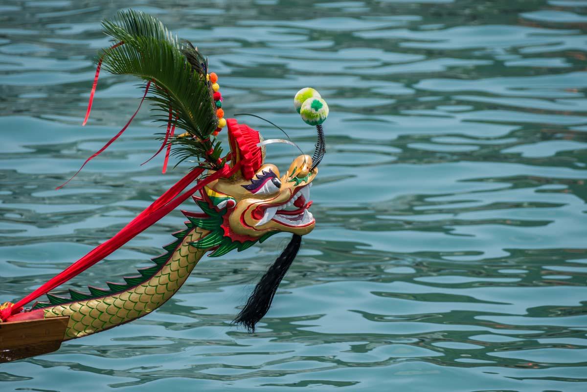 جشنواره قایق اژدها در سنگاپور