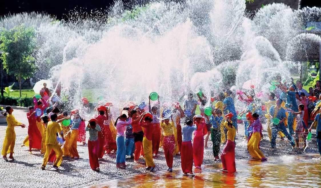 فستیوال سونگکران تایلند