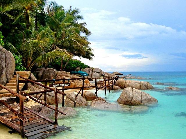 4 جزیره زیبای سامویی